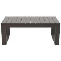 Cordova Reef - Dark Brown - Rectangular Cocktail Table