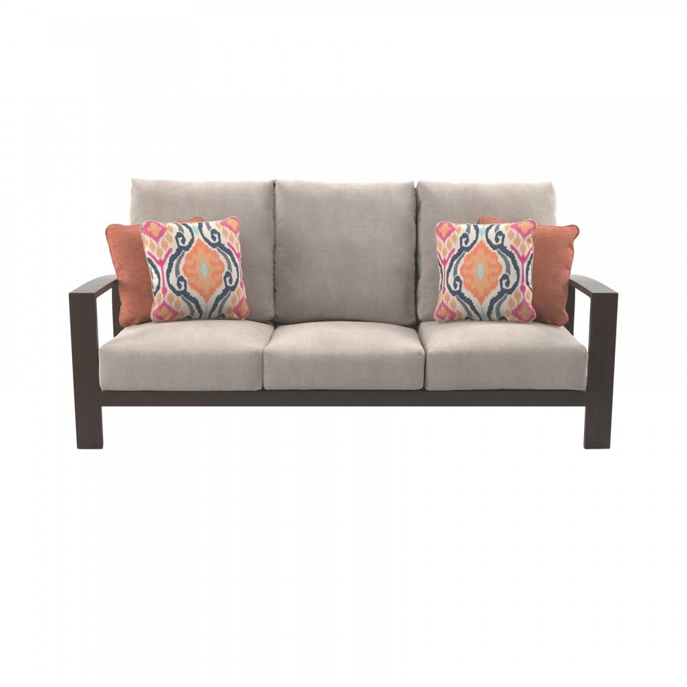 Super Cordova Reef Dark Brown Sofa With Cushion Inzonedesignstudio Interior Chair Design Inzonedesignstudiocom