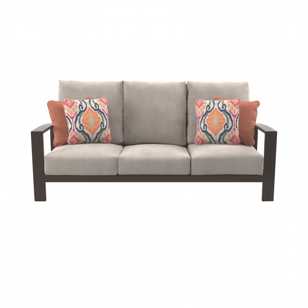 Cordova Reef - Dark Brown - Sofa with Cushion | P645-838 | Sofas ...