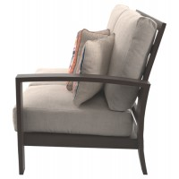 Cordova Reef Right-Arm Facing Loveseat with Cushion