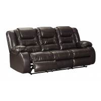 Vacherie - Chocolate - Reclining Sofa