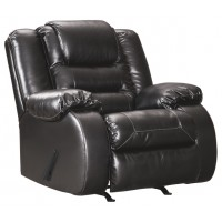 Vacherie - Black - Rocker Recliner