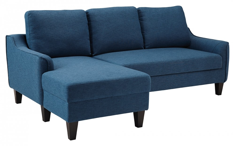 Astonishing Jarreau Blue Queen Sofa Sleeper Gmtry Best Dining Table And Chair Ideas Images Gmtryco