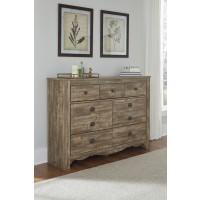 Shellington - Caramel - Dresser