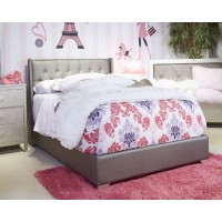 Coralayne - Silver - Full UPH Footboard with Rails