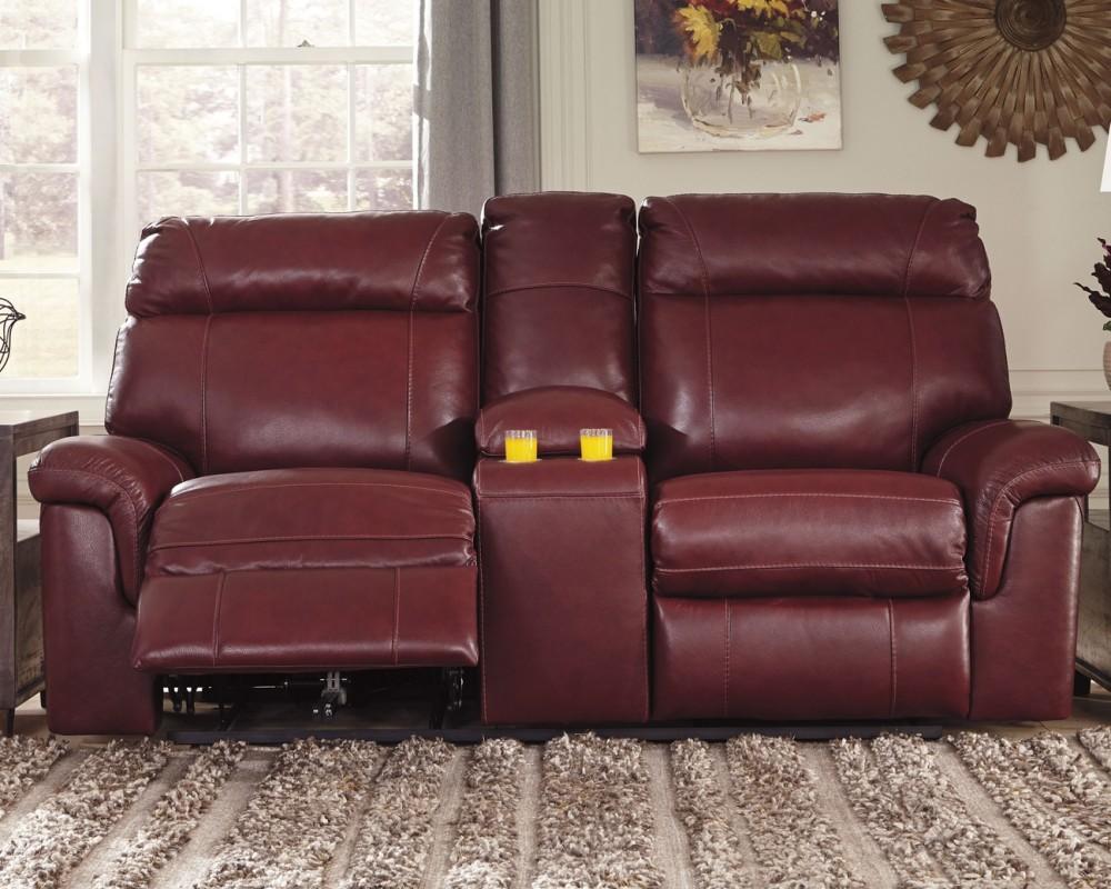 Fabulous Duvic Crimson Pwr Rec Loveseat Con Adj Hdrst 5620218 Spiritservingveterans Wood Chair Design Ideas Spiritservingveteransorg