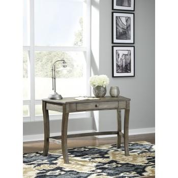 Vintelli - Grayish Brown - Home Office Desk
