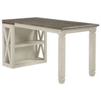 Bolanburg Bookcase Desk Return