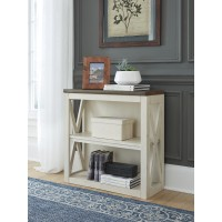 Bolanburg - Two-tone - Bookcase Desk Return