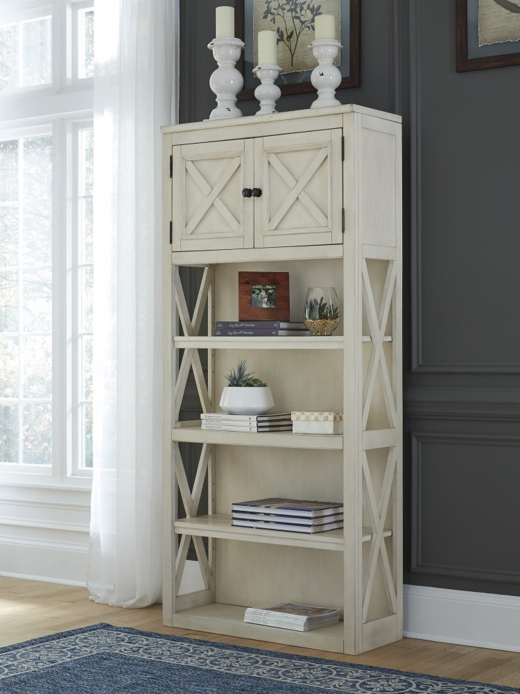 Bolanburg - Two-tone - Large Bookcase