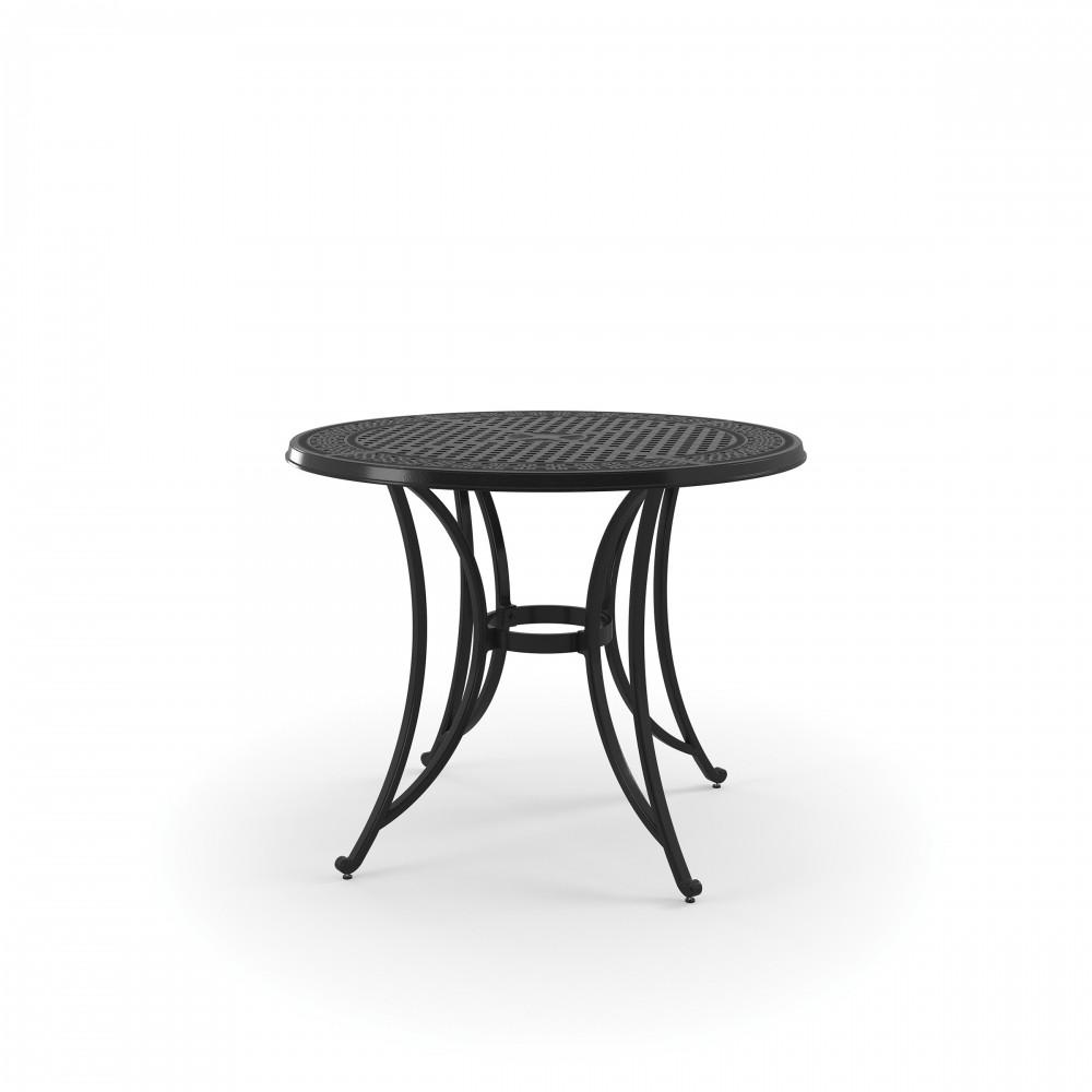 Burnella - Brown - Round Bar Table