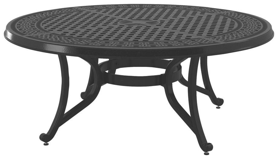 Burnella - Brown - Round Cocktail Table