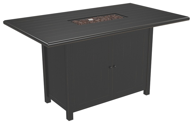 Perrymount - Brown - Rectangular Bar Table