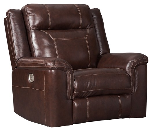 Wyline - Coffee - PWR Recliner/ADJ Headrest