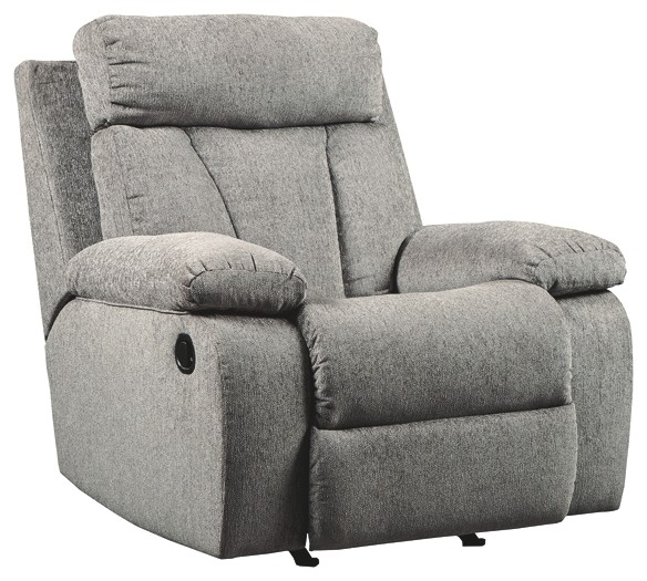 Mitchiner - Fog - Rocker Recliner