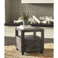 Chaseburg - Light Brown - Square End Table