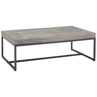 Brazin - Gray - Rectangular Cocktail Table