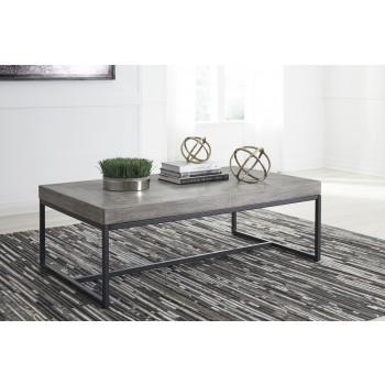 Brazin - Gray - Rectangular Cocktail Table