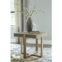 Paluxy - Light Brown - Square End Table