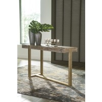 Paluxy - Light Brown - Sofa Table