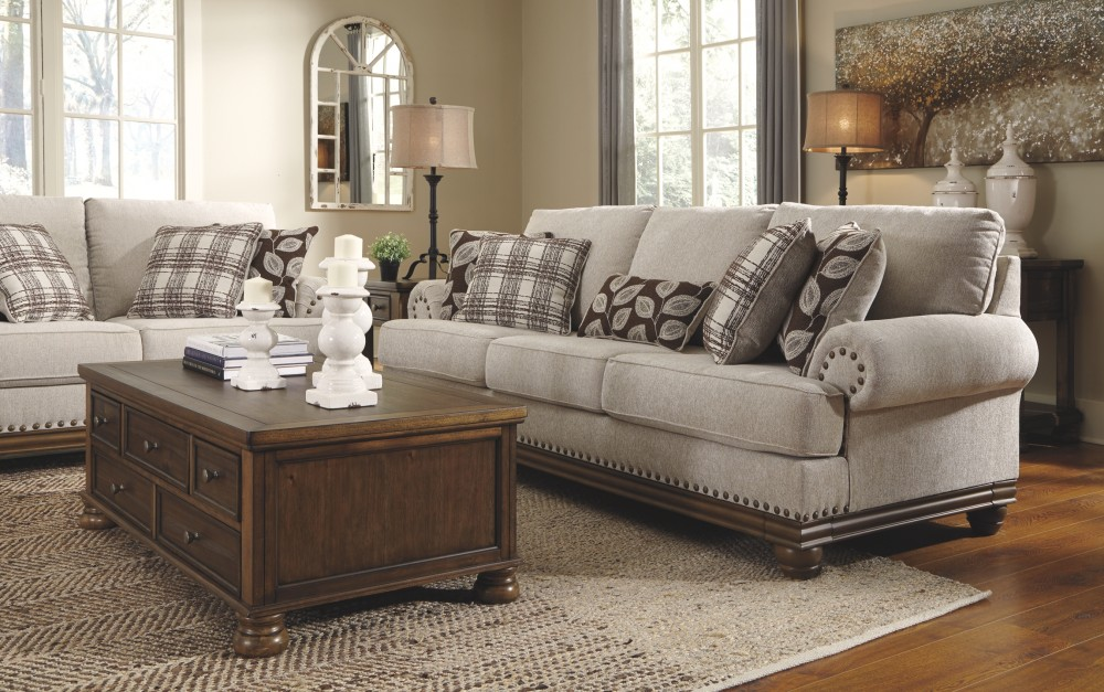 Harleson Wheat Sofa 1510438 Sofas Price Busters