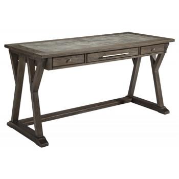 Luxenford - Grayish Brown - Home Office Large Leg Desk