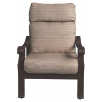 Chestnut Ridge - Brown - Lounge Chair w/Cushion (1/CN)