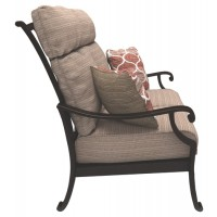 Chestnut Ridge - Brown - Loveseat w/Cushion