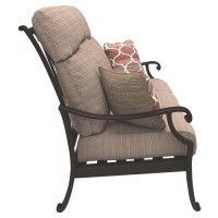Chestnut Ridge - Brown - Sofa with Cushion
