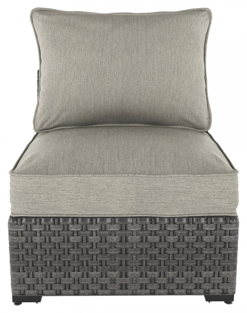 Spring Dew Armless Chair with Cushion (Set of 2)
