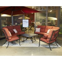 Burnella - Brown - RAF Loveseat w/Cushion