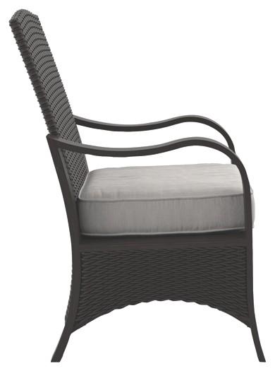 Marsh Creek - Brown - Chair with Cushion (2/CN)