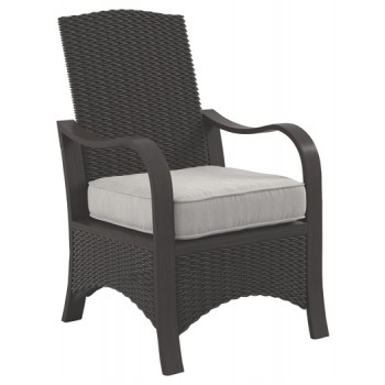 Marsh Creek - Brown - Chair with Cushion (2/CN)