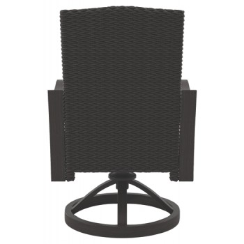 Marsh Creek - Brown - Swivel Chair w/Cushion (2/CN)
