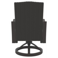 Marsh Creek - Brown - Swivel Chair w/Cushion (2/CN)