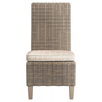 Beachcroft - Beige - Side Chair with Cushion (2/CN)
