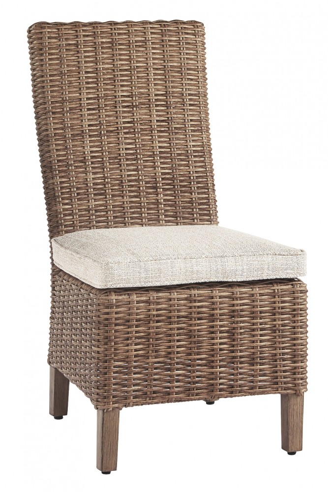 Beachcroft - Beige - Side Chair with Cushion (2/CN)
