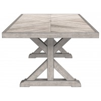 Beachcroft - Beige - RECT Dining Table w/UMB OPT