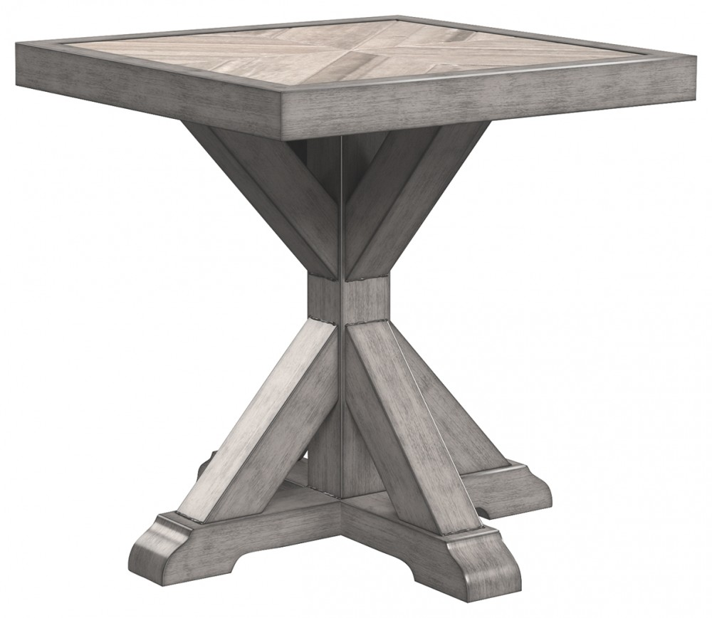 Beachcroft - Beige - Square End Table