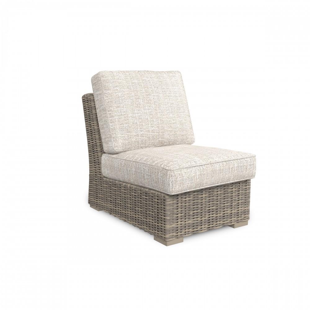 Beachcroft   Beige   Armless Chair W/Cushion (1/CN)