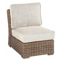 Beachcroft - Beige - Armless Chair w/Cushion (1/CN)