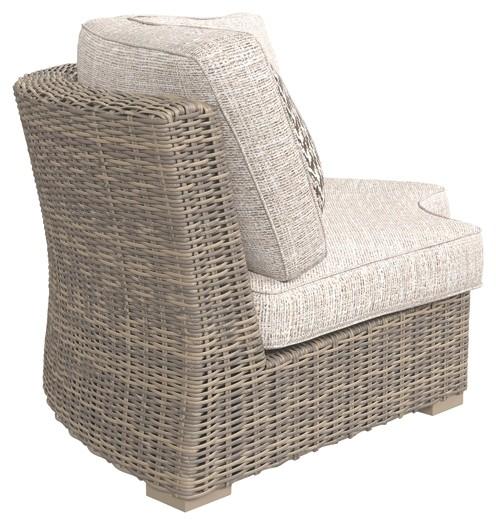Beachcroft Curved Corner Chair With Cushion P791 851