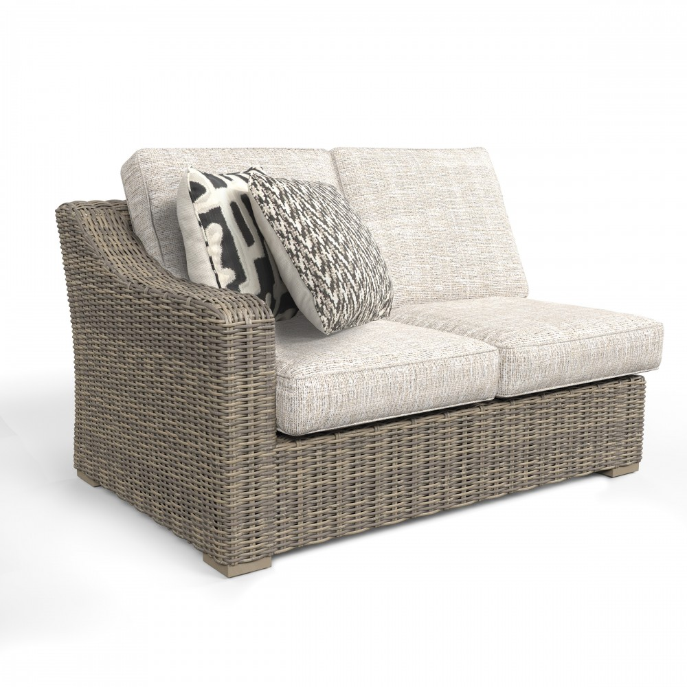 Beachcroft   Beige   RAF/LAF Loveseat W/CUSH (2/CN)