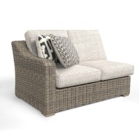 Beachcroft - Beige - RAF/LAF Loveseat w/CUSH (2/CN)
