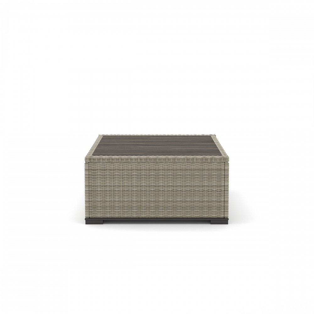 Silent Brook - Beige - Square Cocktail Table