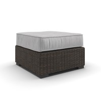Alta Grande - Beige/Brown - Ottoman with Cushion
