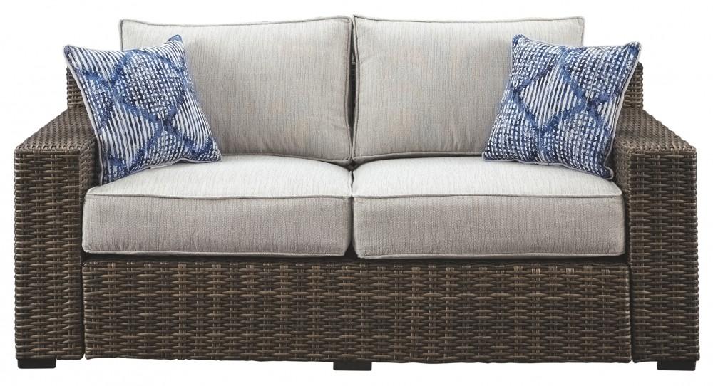 Marvelous Alta Grande Loveseat With Cushion Short Links Chair Design For Home Short Linksinfo