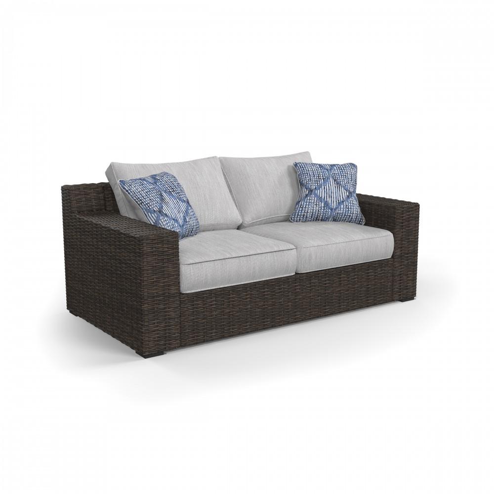 Alta Grande   Beige/Brown   Loveseat W/Cushion