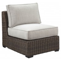 Alta Grande Armless Chair with Cushion
