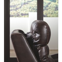 Ailor - Brown - PWR Recliner/ADJ Headrest